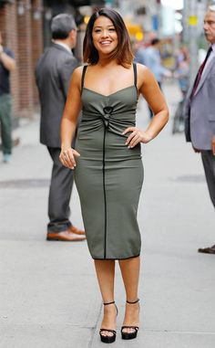 Gina Rodriguez from The Big Picture: Today's Hot Photos  The always lovely actress is seen in New York City.
