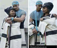 African Wedding Attire, African Attire, African Fashion Dresses, African Dress, African Traditional Wear, Traditional Dresses, Black Love, Black Is Beautiful, Xhosa Attire