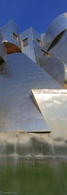 Weisman Art Museum, University of Minnesota, Minneapolis Futuristic Architecture, Beautiful Architecture, Contemporary Architecture, Architecture Details, Interior Architecture, Interior And Exterior, Museum Architecture, Unique Buildings, Beautiful Buildings