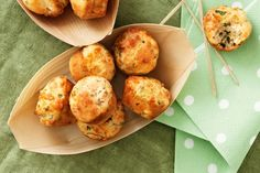 Cheese Muffins .