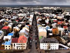 Reykjavik, the capital of Iceland