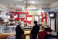Customers Coffee Cow, Village Coffee, Gourmet Sandwiches, Homemade Ice Cream, Home Ice Cream, Homemade Ice