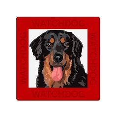 Hovawart dog sign plate van watch4dogz op Etsy