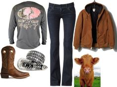 """""""FFA showing"""" by small-town-country-gurl on Polyvore"""