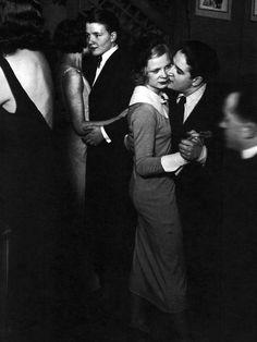 Couples dancing, Paris, 1932