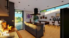 Projekt moderného 4-izbového rodinného domu s názvom Bravo. Súčasťou domu je komfortná obývacia izba spojená s kuchyňou , spálňa, dve detské izby, samostatné WC, kúpeľňa, sklad potravín, šatník, hospodárska miestnosť a letná terasa. Zaujimavosťou domu je zvýšená svetlá výška obývacieho priestoru, ktorá zabezpečuje optimálne presvetlenie dennej časti domu. Table, Furniture, Home Decor, Decoration Home, Room Decor, Tables, Home Furnishings, Home Interior Design, Desk