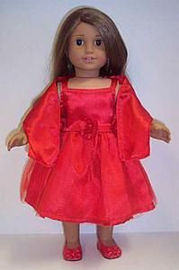 Dori's Doll Boutique - 85654L-RED SATIN DRESS W/SCARF, $14.49 (http://www.dorisdollboutique.com/85654l-red-satin-dress-w-scarf/)