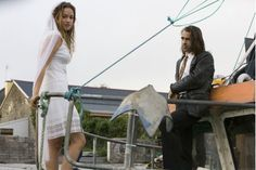 Alicja Bachleda and Colin Farrell in Ondine