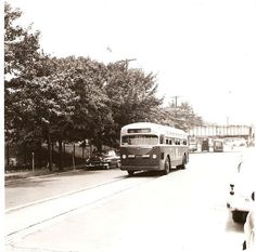 PTC Mack bus  Phila  1955