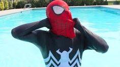 Spiderman vs Venom   In Real Life   Bath Time Compilation!:) - YouTube