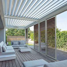 Pergola Designs, Deck Design, Garden Design, House Design, Love Garden, Home And Garden, Pergola Patio, Backyard, Outdoor Living