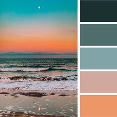 Beachy, Coastal Color Palette Inspiration — Alyson Agemy / Website Designer