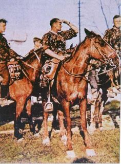 They had Cavalry during WWI and WWII will. This is SS Cavalry, in 1941.