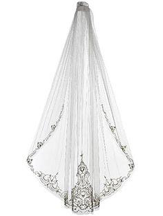 Beautiful veil!