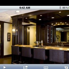Nice bar for basement
