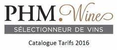 Catalogue 2016 PHM Wine