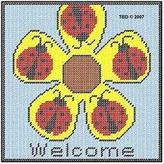 Sunflower Ladybug welcome