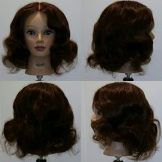 Pin Curls : After