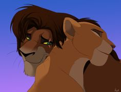 Day 34: Favorite Animal Couple- Kiara and Kovu are my favorite animal couple because they both followed their hearts even though Simba and Zira forbade it. They're like a Lion King version of Romeo & Julie, but without the main characters dying.  And they're cousins....but things are probably different in the lion world.