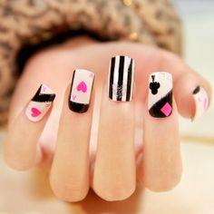 CUTE KAWAII NAIL DESIGNS Inspirations | **~Zibees.com~** Fashion Guilt DIY/Tips!!