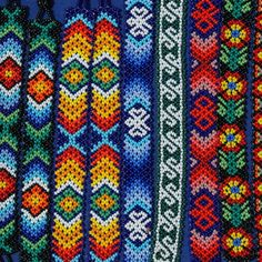 Huichol - Link doesn't work, but so pretty!