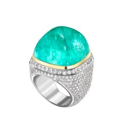 Theo Fennell - Mozambique Tourmaline & Diamond Ring