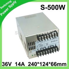 (46.00$)  Buy here - http://aib2t.worlditems.win/all/product.php?id=1966327182 - High Quality LED display switching power supply LED power supply 48V 10A 500W transformer 100-240V