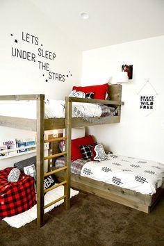 22 Low Budget DIY Bunk Bed Plans to Upgrade Your Kids Room - DIY