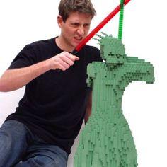 Liberty Jedi — Nathan Sawaya — The Art of the Brick