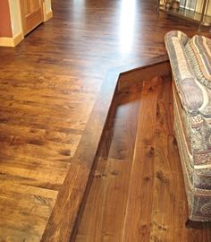 Stained Maple Flooring
