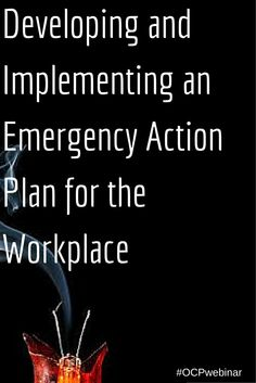 Do your employees really know what to do in an emergency? Visitors, contractors? Will they know there is an emergency? Learn the necessary elements of an emergency response plan. Update your current plan or create one if there isn't one. http://www.onlinecompliancepanel.com/ecommerce/webinar/~Paul_Snyder/~Developing-and-Implementing-an-Emergency-Action-Plan-for-the-Workplace/~product_id=500800LIVE?expDate=SocialMedia_March16th2015