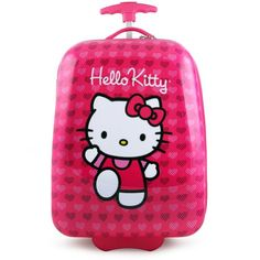 Purple Suitcases | Hello Kitty Kiss Purple suitcase | Luggage ...