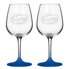 NCAA Florida Gators Boelter Wine Glass (2 Pack)