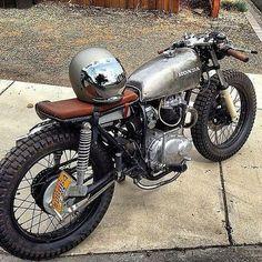 Honda CB360 Brat.