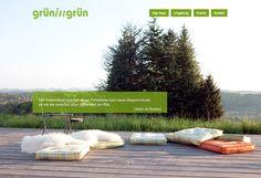 GRÜN IN GRÜN by INTERNETKULTUR // www.grüningrün.at Outdoor Sofa, Outdoor Furniture, Outdoor Decor, Design, Environment, Cottage House, Marriage, Culture, Outdoor Couch