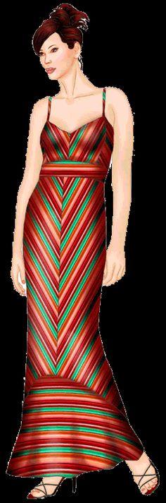 preview - #5520 Dress (raise neckline, add shrug or short jacket)