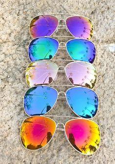 63be9ac8fe99 Big Mirror Lens Large Gold Metal Frame Aviator Hot Blogger Sunglasses 3683  Diva