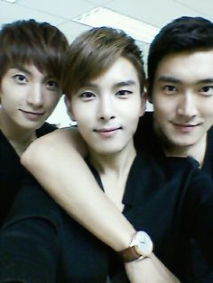 Leeteuk Ryeowook Siwon (Super Junior) Come visit kpopcity.net for the largest discount fashion store in the world!!