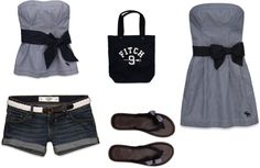 """Abercrombie & Fitch outfit"" by lyngaasm on Polyvore"