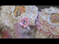 """Cupcake doily book: """"on the beach"""" - Dt Cindy's Scrapshop - YouTube"""