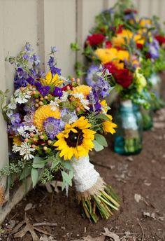 beautiful wedding bouquet inspiration great colors