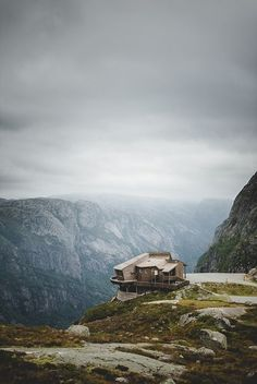 The spectacular views in Norway would be ideal for a trekking holiday.