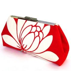 Add a pop of color to any outfit with one of these simple-to-sew fabric clutches.