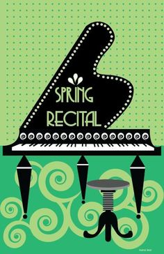 Make Recitals Easier with Ready-Made Cover Art