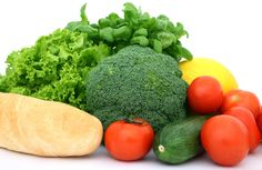 fresh vegetables can help keep acne away
