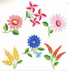 FolkCostume: Embroidery of Kalocsa, Bács-Kiskun county, Hungary
