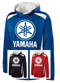 YAMAHA RACING PERFORMANCE HOODIE Hooded Sweatshirt R1 Motocross ATV YZF in Clothing, Shoes & Accessories | eBay