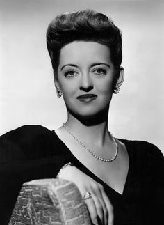 """Bette Davis as 'Charlotte Vale' from  """"Now, Voyager"""", (1942)"""