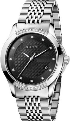 YA126408 - Authorized Gucci watch dealer - Mens Gucci Timeless Quartz Medium, Gucci watch, Gucci watches