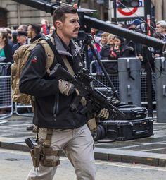 Army Reserve RMP Close Protection, Lord Mayor's Parade, November 2014
